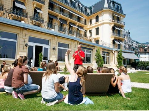 Swiss Language Club SLC Montreux, лагерь в Швейцарии | языковая школа в Швейцарии